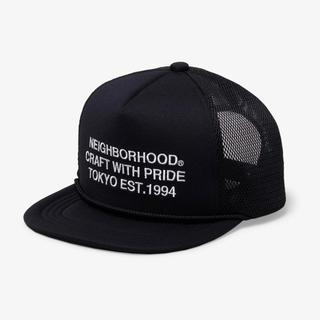 ネイバーフッド(NEIGHBORHOOD)のNEIGHBORHOOD 20SS TRACKER-E / E-CAP 黒(キャップ)