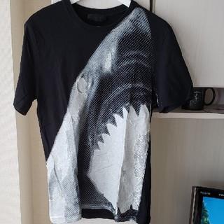 アレキサンダーマックイーン(Alexander McQueen)のALEXANDER MCQUEEN  シャークTシャツsizeS(Tシャツ/カットソー(半袖/袖なし))