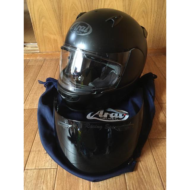 アライ バイク フルフェイス ヘルメット  クァンタムJ Lサイズ 自動車/バイクのバイク(ヘルメット/シールド)の商品写真