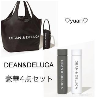 ディーンアンドデルーカ(DEAN & DELUCA)のDEAN&DELUCA 付録 レジカゴバッグ 保冷 ボトル2個 4点セット(エコバッグ)