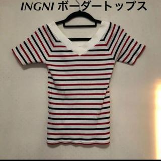 イング(INGNI)のボーダー Tシャツ INGNI(Tシャツ/カットソー(半袖/袖なし))