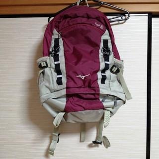 ミズノ(MIZUNO)の【最終値下げ!!】ミズノ アウトドアザックバッグFoaI25(登山用品)