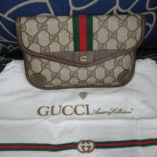 グッチ(Gucci)のold gucci  人気 ヴィンテージ クラッチバッグ(クラッチバッグ)