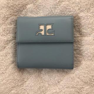 クレージュ(Courreges)のグレージュ 三つ折り財布(財布)