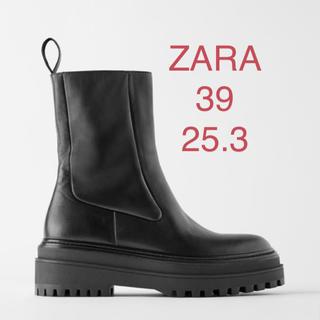 ザラ(ZARA)の新品 ZARAブーツ 25.0 25.3 25.5 39(ブーツ)