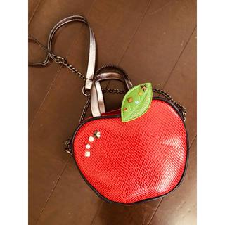 アナスイミニ(ANNA SUI mini)の【新品未使用】アナスイミニりんごバッグポシェット(ポシェット)