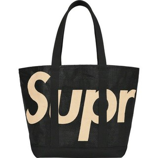 シュプリーム(Supreme)のsupreme raffia tote bag black(トートバッグ)