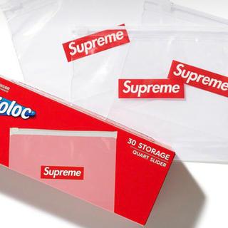 シュプリーム(Supreme)のsupreme ジップロック 2個(ショップ袋)