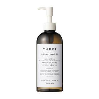 スリー(THREE)の新品 THREE スリー フルボディウォッシュAC(ボディソープ/石鹸)
