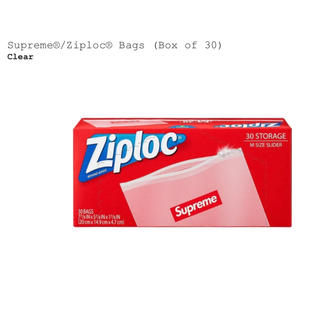 シュプリーム(Supreme)のsupreme ziploc bags 2個セット(食器)