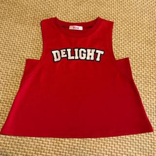 イングファースト(INGNI First)のING First  タンクトップ サイズ150(Tシャツ/カットソー)