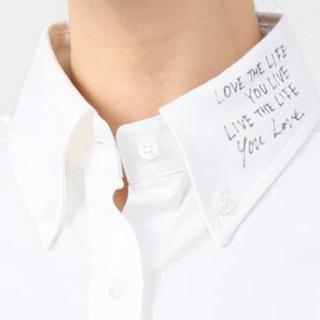 MADISONBLUE - マディソンブルー メッセージシャツ