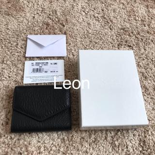 マルタンマルジェラ(Maison Martin Margiela)の新品未使用 メゾン マルジェラ 三つ折り財布(財布)