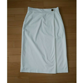 アンタイトル(UNTITLED)のミモレ丈 スカート(ロングスカート)