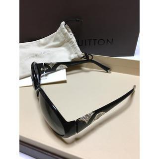 ルイヴィトン(LOUIS VUITTON)のルイ ヴィトン LOUIS VUITTON LV サングラス 正規品 ブラック(サングラス/メガネ)