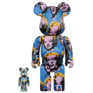 メディコムトイ(MEDICOM TOY)のAndy Warhol's Marilyn Monroe BE@RBRICK(アニメ/ゲーム)