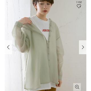ケービーエフ(KBF)のKBF シースルーアシンメトリーシャツ(シャツ/ブラウス(長袖/七分))