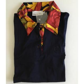 クリスチャンディオール(Christian Dior)のChristian Dior ディオール  カットソー シャツ(ポロシャツ)