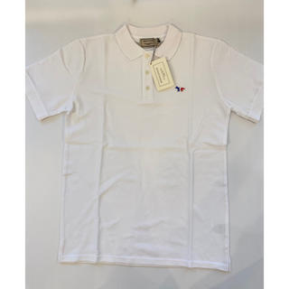 メゾンキツネ(MAISON KITSUNE')の【Mサイズ】新品未使用 メゾンキツネ Maison Kitsune ポロシャツ(ポロシャツ)