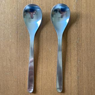 ヤナギソウリ(柳宗理)の【USED】柳宗理 ディナースプーン 2本セット(カトラリー/箸)