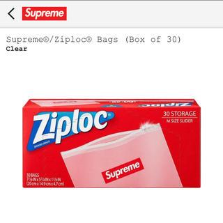 シュプリーム(Supreme)のsupreme ジップロック2個セット(ショップ袋)
