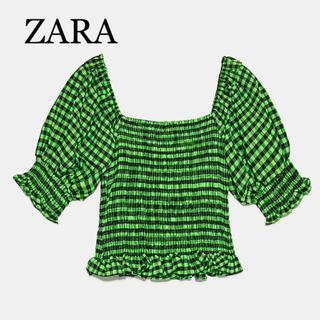 ザラ(ZARA)のZARA♡ギンガムチェックチュニック(チュニック)