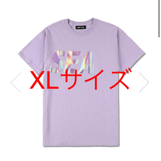 WIND AND SEA IRIDESCENT T-SHIRT PURPLE (Tシャツ/カットソー(半袖/袖なし))