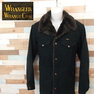 ラングラー(Wrangler)の【Wrangler】 美品 ラングラー ランチコート ブラウン 裏ボア XL(ブルゾン)
