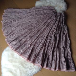 デミルクスビームス(Demi-Luxe BEAMS)のMARIHA♡BEAMS別注♡草原の虹のスカート♡マリハ(ロングスカート)