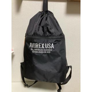 アヴィレックス(AVIREX)の♦︎新品、未使用♦︎ AVIREX アビレックス ナップザック バッグ 黒 (バッグパック/リュック)