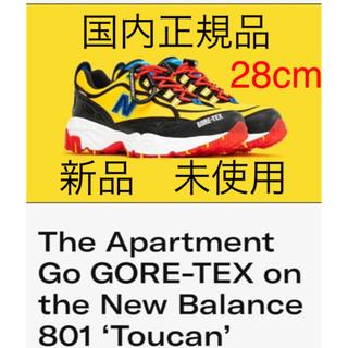 ニューバランス(New Balance)のNEW BALANCE × the Apartment ML801GTX 28(スニーカー)