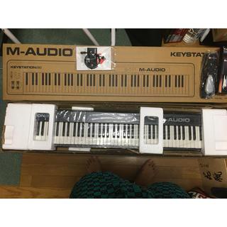 中古美品 M-AUDIO Keystation 88 とペダルセット(MIDIコントローラー)