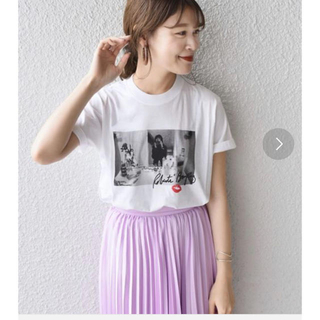 SHIPS for women - シップス トップス Tシャツ 白 SHIPS/RobertaBayley