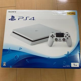 SONY - PS4 1TB グレイシャーホワイト 新品未使用  プレイステーション 4