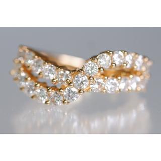 タサキ(TASAKI)のK18 田崎 ダイヤモンド 1.16ct リング 10号 指輪 タサキ (リング(指輪))