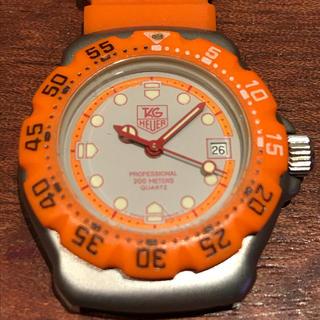 タグホイヤー(TAG Heuer)のTAG HEUER タグホイヤー  プロフェッショナル 稼働品 電池交換済 美品(腕時計)