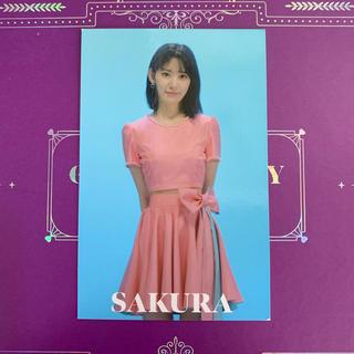 エイチケーティーフォーティーエイト(HKT48)のIZONE 宮脇咲良 ARトレカ フォトカード(K-POP/アジア)