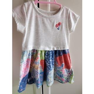 Design Tshirts Store graniph - Design Tshirt store graniph ワンピース90サイズ