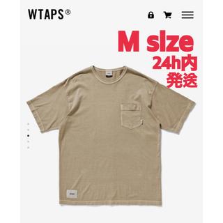ダブルタップス(W)taps)のしゅーくりーむ様専用 WTAPS BLANK PIGMENT BEIGE M(Tシャツ/カットソー(半袖/袖なし))