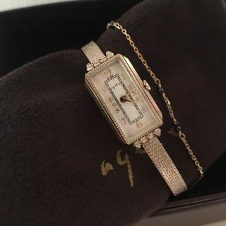 アガット(agete)のagete K10限定時計 ムーブ交換動作確認済み(腕時計)
