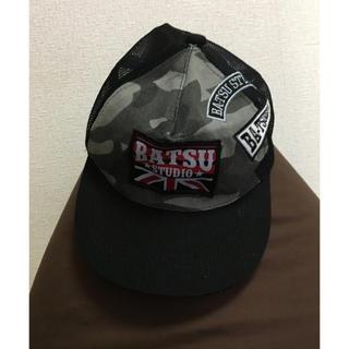 バツ(BA-TSU)のBATSU STUDIO キャップ(キャップ)