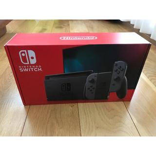ニンテンドースイッチ(Nintendo Switch)のNintendo Switch 任天堂 スイッチ 本体 グレー 新型 (その他)
