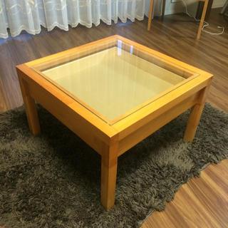 家具☆引き出しテーブル(ローテーブル)