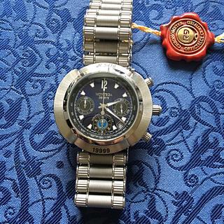 モンテガジュネーブ自動巻きクロノメータークロノグラフ未使用品(腕時計(アナログ))