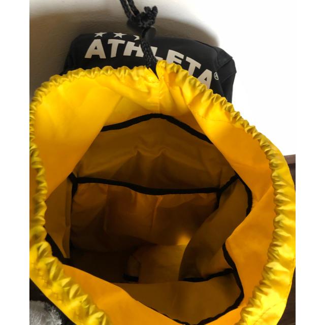ATHLETA(アスレタ)のATHLETA 大容量 リュック サッカー 合宿 修学旅行 スポーツ/アウトドアのサッカー/フットサル(その他)の商品写真