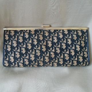 クリスチャンディオール(Christian Dior)の☆クリスチャンディオール トロッター柄 クラッチバッグ CD(クラッチバッグ)