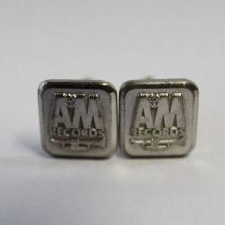 【コレクターアイテム】A&M RECORDS A&Mレコード カフスリンク(カフリンクス)