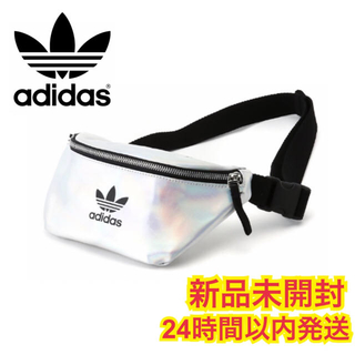 adidas - アディダスオリジナルス メタリック ウエストバッグ