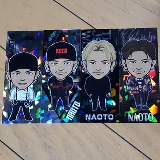 サンダイメジェイソウルブラザーズ(三代目 J Soul Brothers)のNAOTO ステッカーセット(ミュージシャン)