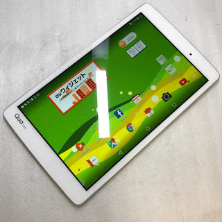 アンドロイド(ANDROID)のau LG Qua tab PX ジャンク aki628(タブレット)